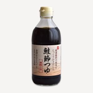 会津製麺 鮭節つゆ (0.4リットル)瓶|aizuseimen