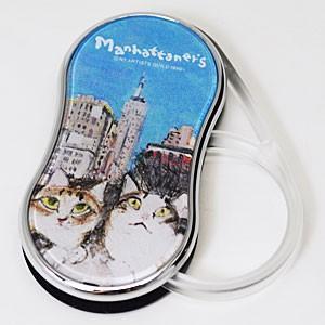 Manhattaner's(マンハッタナーズ)/MAN LEDライト付きルーペ3 やっぱりニューヨークは最高だね。/ポケットルーペ スウィングルーペ 071067(代引不可)|ajewelry