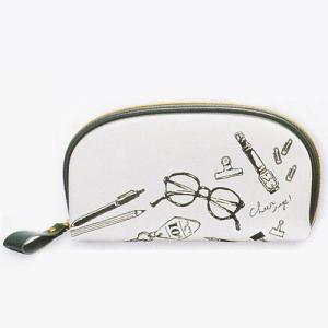 5月発売予定/クロス付き メガネケース めがねポーチ/デイリーグッズ 094108(取寄せ/代引不可)パール ajewelry