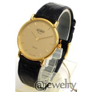 半額  テクノス[TECHNOS]ウォッチ Gold K18(750) 109010(代引不可)|ajewelry