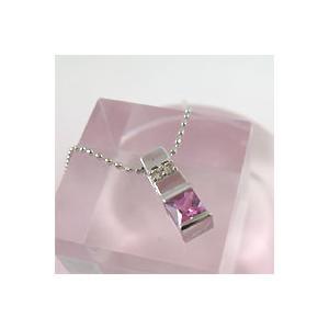 ■【K18ホワイトゴールド】ダイヤモンド◇ピンクサファイア◆ペンダント(代引不可) ajewelry