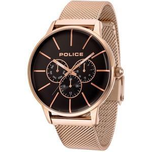 POLICE(ポリス) ウォッチ/SWIFT(スウィフト) ブラック×ローズゴールド 14999JSR-02MM(取寄せ/代引不可)|ajewelry