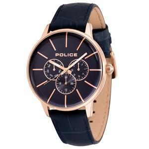 POLICE(ポリス) ウォッチ/SWIFT(スウィフト) ネイビー レザーベルト 14999JSR-03(取寄せ/代引不可)|ajewelry