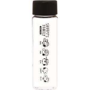 プラスト/スヌーピー スクエアクリアボトル 水筒 400ml ファミリー 4420-093(取寄せ/代引不可/ギフト不可)|ajewelry