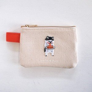 ポケファス×プラスト Pokefasu 刺繍 ティッシュケース/にゃんこスパ 猫 ポーチ 小物入れ 4423-105(取寄せ/代引不可/ギフト不可)|ajewelry