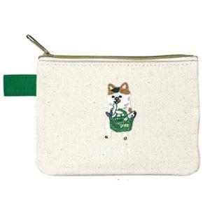 ポケファス×プラスト Pokefasu 刺繍 ティッシュケース/スーパーネコ 猫 ねこ ポーチ 小物入れ 4423-147(取寄せ/代引不可/ギフト不可)|ajewelry