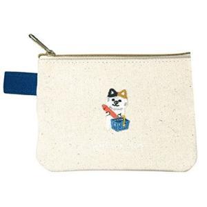 ポケファス×プラスト Pokefasu 刺繍 ティッシュケース/チビスーパーネコ 猫 ねこ ポーチ 小物入れ 4423-148(取寄せ/代引不可/ギフト不可)|ajewelry