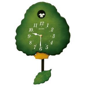 2021年3月より再入荷/リズム時計 木製鳩時計 グレイスカッコー 413R/4MJ413RH05(取) ajewelry