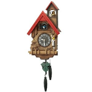 RHYTHM リズム時計 木製鳩時計/カッコーチロリアンR 4MJ732RH06(取)|ajewelry