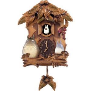 シチズン となりのトトロ[森の家]からくり掛け時計 (4MJ806MA06)(取寄せ/代引不可) ajewelry