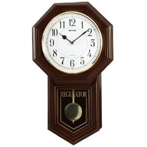 RHYTHM リズム時計/クオーツ掛時計 飾り振子付 ベングラーR 4MJA03RH06(取寄せ/代引不可) ajewelry