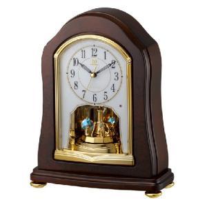 リズム時計 電波置時計/RHG-S53 回転飾り 木枠 4RY688HG06(取寄せ/代引不可)|ajewelry
