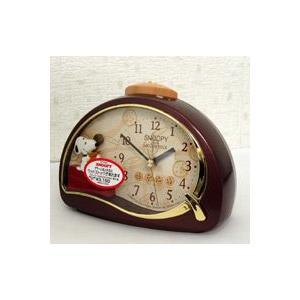 即納!リズム時計/スヌーピー めざまし時計 4SE506MJ09 (代引不可)|ajewelry