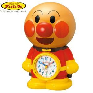 リズム時計/アンパンマン めざましとけい/音声アラーム 目覚まし時計 4SE552-M06 (取寄せ/代引不可)|ajewelry