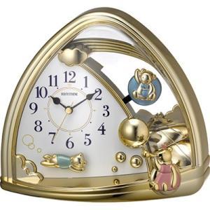 リズム時計 置時計/ファンタジーランド 762SR 飾り振子 4SG762SR18(取寄せ/代引不可)|ajewelry