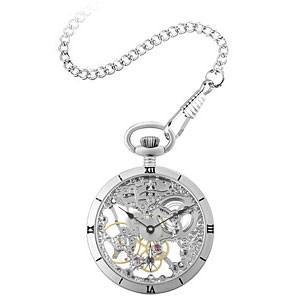 アルカフトゥーラ(ARCA FUTURA) 懐中時計/手巻き フルスケルトン 5074ATSSK(取寄せ/代引不可) ajewelry