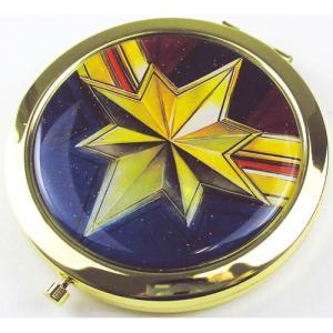 プラスト ティーズファクトリー/MARVEL(マーベル) Wコンパクトミラー 鏡 2面鏡 拡大鏡/キャプテン・マーベル 5231325(取/ギフト不可)|ajewelry