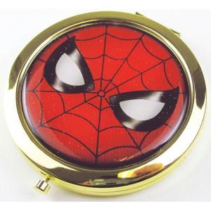プラスト ティーズファクトリー/MARVEL(マーベル) Wコンパクトミラー 鏡 2面鏡 拡大鏡/スパイダーマン 5231327(取/ギフト不可)|ajewelry