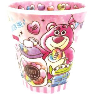 プラスト/ディズニー ピクサー Wプリント メラミンカップ コップ/キャンディドリーム トイストーリー 5240431(取/ギフト不可)|ajewelry