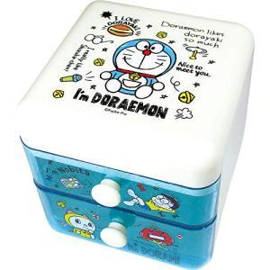 5月予定プラスト ティーズファクトリー/ドラえもん I'm Doraemon 2段チェスト 引き出し 収納ケース スタンダード 5240615(取寄せ/代引不可/ギフト不可)|ajewelry