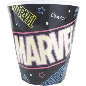 プラスト ツジセル/MARVEL(マーベル) Wプリント メラミンカップ コップ/80sPOP ネオン 5240772(取/ギフト不可)|ajewelry