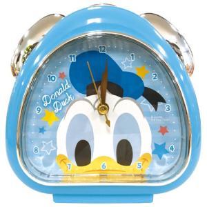 プラスト ティーズファクトリー 目覚まし時計 おむすびクロック/ディズニー フェイス ドナルドダック 5240795(取)|ajewelry