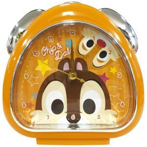 プラスト ティーズファクトリー 目覚まし時計 おむすびクロック/ディズニー フェイス チップ&デール 5240796(取)|ajewelry