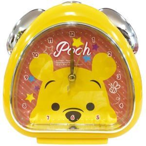 プラスト ティーズファクトリー 目覚まし時計 おむすびクロック/ディズニー フェイス くまのプーさん 5240798(取)|ajewelry