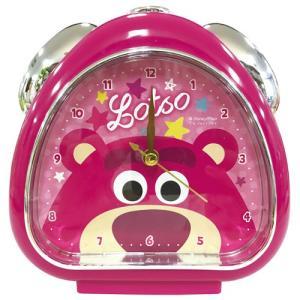 プラスト ティーズファクトリー 目覚まし時計 おむすびクロック/ディズニー ピクサー フェイス ロッツォ 5240800(取)|ajewelry
