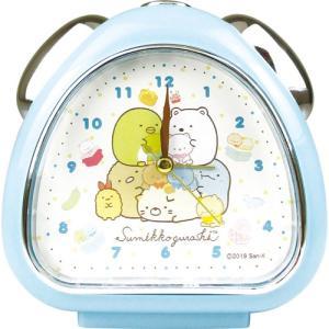 プラスト ティーズファクトリー 目覚まし時計 おむすびクロック/すみっコぐらし てづくりぬいぐるみ/ブルー 5240805(取)|ajewelry