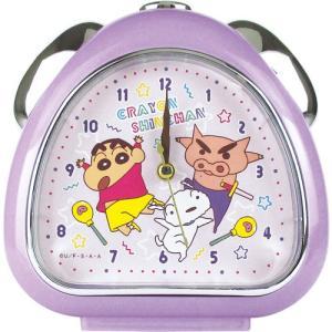 プラスト ティーズファクトリー 目覚まし時計 おむすびクロック/クレヨンしんちゃん ネオンカラー/ダンス 5240850(取)|ajewelry