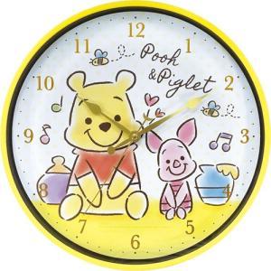 プラスト ティーズファクトリー/インデックスウォールクロック 掛時計/ディズニー ファジー プーさん 5240877(取寄せ/代引不可)|ajewelry