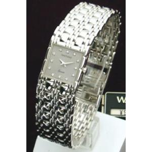 半額(代引き不可) ウォルサム【WALTHAM】ホワイトゴールド無垢ウォッチ レディースモデル(56105)|ajewelry