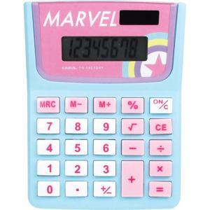 プラスト ティーズファクトリー/MARVEL マーベル キャラ電卓 計算機 ソーラー電池/アイコン 6014652(取寄せ/代引不可/ギフト不可)|ajewelry