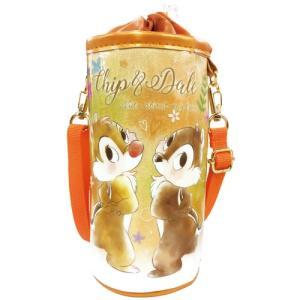 プラスト ティーズファクトリー/ディズニー レイヤー ペットボトルカバー ケース ボトルホルダー ランチ 保冷/チップ&デール 6301725(取/ギフト不可)|ajewelry