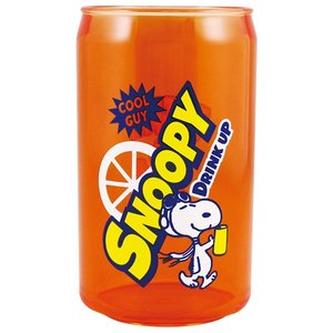 プラスト/スヌーピー 缶型 フルーツタンブラー コップ/オレンジ 6430727(取/ギフト不可)|ajewelry