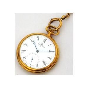 半額(代引き不可) ウォルサム【WALTHAM】金時計 機械式懐中時計(83803)|ajewelry