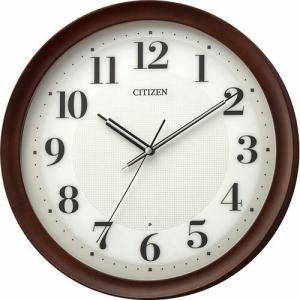 CITIZEN(シチズン) 電波掛時計 木枠 丸型 8MY554-006(取寄せ/代引不可)|ajewelry