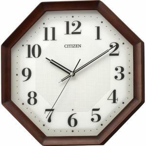 CITIZEN(シチズン) 電波掛時計 木枠 八角型 8MY555-006(取寄せ/代引不可)|ajewelry