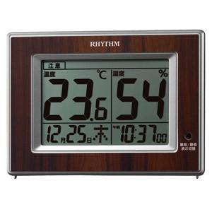 リズム時計 高精度センサー 温湿度計/ルームナビD200 8RD200SR23(取寄せ/代引不可)|ajewelry