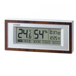 シチズン 高精度センサー 温・湿度計/ライフナビD207A 8RD207-A23(代引不可)|ajewelry