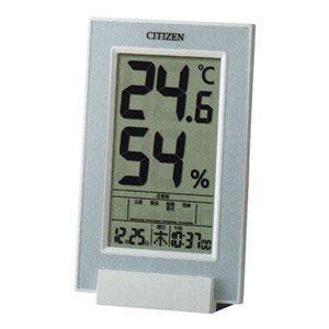 終了/シチズン 高精度センサー 温・湿度計/インフォームナビD209A 8RD209-A04|ajewelry