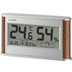 シチズン 高精度センサー 温・湿度計/ライフナビD210A 8RD210-A23(代引不可)|ajewelry