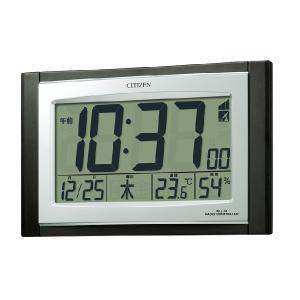 シチズン デジタル電波掛置時計/パルデジットコンビR096 8RZ096-023(取寄せ/代引不可) ajewelry
