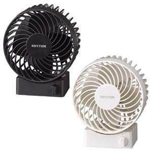 リズム時計 USBファン 卓上扇風機/Silky Wind S(シルキーウィンドS) コンパクトファン 9ZF017RH(取寄せ) ajewelry