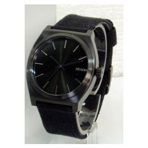 nixon(ニクソン)ウォッチ [TIME TELLER CANVAS ALL BLACK]A046-001(代引不可)|ajewelry