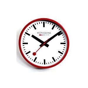 モンディーン(MONDAINE)/ウォール クロック(掛時計) レッド A990.CLOCK.11SBC(取寄せ/代引不可)|ajewelry