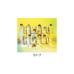 先着特典クリアファイル(A)(外付) 初回盤A スリーブ仕様/動画視聴シリアルナンバー Snow Man CD+DVD/HELLO HELLO 21/7/14発売 オリコン加盟店 ajewelry