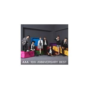 AAA 2CD+DVD/AAA 10th ANNIVERSARY BEST 15/9/16発売