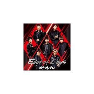 初回盤B(取) Kis-My-Ft2 CD+DVD/Edge of Days 19/11/13発売 オリコン加盟店|ajewelry